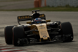 March 10, 2017 - Barcelona, Barcelona, Spain - Jolyon Palmer of Great Britain driving the (30) Renault Sport Formula One Team Renault RS17 in action during the Formula One winter testing at Circuit de Catalunya on March 10, 2017 in Montmelo, Spain. (Credit Image: © Dpi/NurPhoto via ZUMA Press)