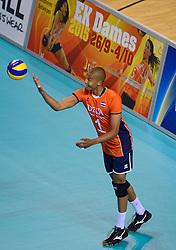 20150614 NED: World League Nederland - Finland, Almere<br /> Nimir Abdelaziz #1