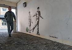 Rebel Bear graffiti, Edinburgh, 10 June 2021