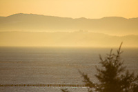 Astoria, Oregon, as seen from Cape Disappointment, Washington.