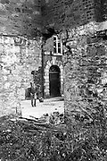 Bomb Damage, Geen St. Court.15/07/1976.07/15/1976.15th July 1976.  .Picture of some of the damage caused by the explosion at Green Street. Four prisoners succeeded in escaping through this demolished wall.