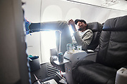 Kevin Durant surprises high school athletes on Alaska Airlines.