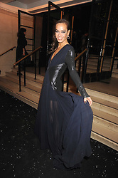 TARA PALMER-TOMPKINSON at the 2008 British Fashion Awards held at the Lawrence Hall, Westminster, London on 25th November 2008.