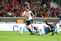 SOCCER : Lille vs Nancy - League 1 - 10/01/2016<br /> <br /> Sebastien Corchia (Lille) vs Michael Chretien (Nancy)<br /> <br /> Norway only