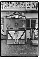 Fun fair in Blackheath, London, 1982. South-East London, 1982