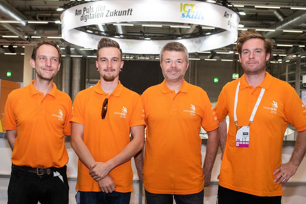 12. September 2018; Bern; SwissSkills 2018  - 5. Tag - Volunteer Apero (Michael Zanghellini)