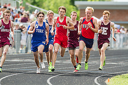 Maine State Track & Field Meet, Class B: boys 800 meters,  Trapani, Shafer, Curts