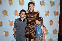 Clodagh Bowyer and children at Irish Screen America: Float Like a Butterfly & Local Short Film Showcase held at Ahrya Fine Arts by Laemmle on November 02, 2019 in Los Angeles, California, United States (Photo by © Jc Olivera/VipEventPhotography.com)