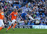 Brighton and Hove Albion v Blackpool 200413