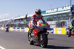 October 28, 2018 - Melbourne, Victoria, AUSTRALIE - ALVARO BAUTISTA - SPANISH - DUCATI TEAM - DUCATI (Credit Image: © Panoramic via ZUMA Press)