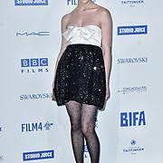 Phoebe Dynevor attends the 22nd British Independent Film Awards at Old Billingsgate on December 01, 2019 in London, England.