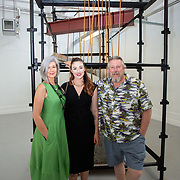 """03.06.2018.        <br /> An In-FLUX of visitors attended LSAD, Limerick School of Art and Design for one of Ireland's largest and most vibrant Graduate Shows.<br /> <br /> More than 200 Fine Art and Design students' work went on display from June 2 to June 10, 2018 at the LSAD Graduate Show - FLUX.<br /> LSAD has been central to Art, Craft and Design in the Limerick and Midwest region since 1852.<br />  <br /> The concept, branding and overall design of the 2018 LSAD Graduate Show - FLUX – is student led, and begins this Saturday June 2 and runs until June 10, 2018.<br />  <br /> FLUX encapsulates the movement and change from student to graduate. """"The """"X"""" in """"FLUX"""" represents the students and how they have made their mark in their time at college,"""" explains designers Cathy Hogan and Will Harte as they outline the thinking behind the concept.<br />  <br /> FLUX describes the dynamic movement in the Limerick city region as it overcomes significant issues to become a fulcrum of rejuvenation, vibrant culture, strong industry growth and a centre of design.<br />  <br /> LSAD is also in a state of FLUX as it develops its enterprise potential and engagement with stakeholders across industry, public bodies, third level institutions and other partners overseeing a shift towards design, creativity and connectivity that goes far beyond the walls of its main campus on Clare Street. Picture: Alan Place"""