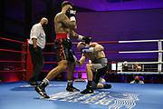 Boxen: Giants Professional Boxing Serie, Hamburg, 07.11.2020<br /> Halbschwergewicht: Niko Kreuz (GER) - Christian Duiz GER)<br /> © Torsten Helmke