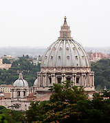 The St. Peter's Basillica in the Vatican City Rome 2013.