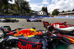 September 1, 2019, Spa-Francorchamps, Belgium: Motorsports: FIA Formula One World Championship 2019, Grand Prix of Belgium, .. Start, #33 Max Verstappen (NLD, Aston Martin Red Bull Racing), #7 Kimi Raikkonen (FIN, Alfa Romeo Racing) (Credit Image: © Hoch Zwei via ZUMA Wire)
