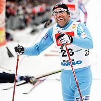 Langrenn Klassisk Sprint 1,2km , FIS World Cup Cross-Country , Drammen 05. Mars 2008 ,  Odd Bjørn Hjelmeset NOR , Foto: Thomas Andersen , Digitalsport