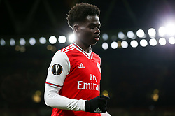 Bukayo Saka of Arsenal - Mandatory by-line: Arron Gent/JMP - 27/02/2020 - FOOTBALL - Emirates Stadium - London, England - Arsenal v Olympiacos - UEFA Europa League Round of 32 second leg