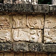 Ancient Mayan ruins at Chichen Itza, Yucatan, Mexico