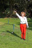 AMSTERDAM - Beoefening van de golfsport. FOTO KOEN SUYK