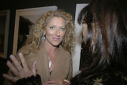 Kelly Hoppen, Hunter S Thompson: Gonzo -Michael Hoppen Gallery, London, SW3, Photographs of, and by Hunter Thompson.1 February 2007.  -DO NOT ARCHIVE-© Copyright Photograph by Dafydd Jones. 248 Clapham Rd. London SW9 0PZ. Tel 0207 820 0771. www.dafjones.com.