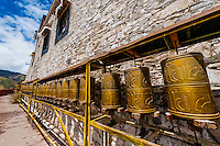 Yambulakhang Palace, Tibet, China.