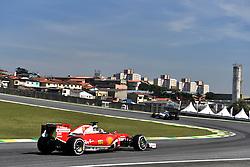 November 11, 2016 - Sao Paulo, Brasil - Motorsports: FIA Formula One World Championship 2016, Grand Prix of Brasil, .#5 Sebastian Vettel (GER, Scuderia Ferrari) (Credit Image: © Hoch Zwei via ZUMA Wire)
