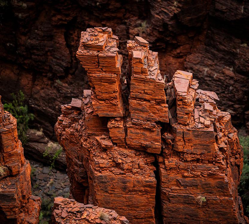 Karijini Park in the Pilbara region of Western Australia Country, Western Australia