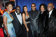l to r: Omarosa Manigault-Stallworth, Eddie Levert, Tatiana Ali, Jamie Foxx, Brooks Collier and Michael Collier at the The Radio One Inaugural Celebration 2009 Hennessey VIP Lounge Salute held at Lincoln Theater in Washington, DC on January 17, 2009..CATHY HUGHES, RADIO ONE FOUNDER AND CHAIRPERSON had a Hometown Inaugural Salute to President Barack Obama and Tom Joyner at the Lincoln Theater in Washington DC. Hennessy hosted celebrities and guests in a branded Hennessy lounge where Tatiana Ali interviewed celebrities about their feelings toward the Barack Obama Presidency. Celebrities in attendance included Jamie Foxx, Alonzo Morning, Eddie Levert, T. D. Jakes, Rev. Al Sharpton, Jackie Reid, Roland Martin, Dick Gregory, Raheem DaVaughn, Bow Bow, and more. Hennessy presented a commemorative Hennessy 44 Bottle which was signed by numerous celebrities which will be auctioned to create 4 four-year scholarships via the Thrugood Marshall College Fund...