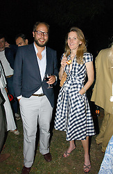RACHEL WHETSTONE and CHARLIE MCVEIGH at a party to celebrate the publication of Notting Hell by Rachel Johnson held in the gardens of 1 Rosmead Road, London W11 on 4th September 2006.<br /><br />NON EXCLUSIVE - WORLD RIGHTS
