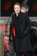 Manchester United Women Manager Casey Stoney during the FA Women's Super League match between Manchester United Women and Manchester City Women at Leigh Sports Village, Leigh, United Kingdom on 14 November 2020.
