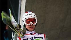06.01.2013, Paul Ausserleitner Schanze, Bischofshofen, AUT, FIS Ski Sprung Weltcup, 61. Vierschanzentournee, Bewerb, im BildSimon Ammann (SUI) // Simon Ammann of Switzerland during Competition of 61th Four Hills Tournament of FIS Ski Jumping World Cup at the Paul Ausserleitner Schanze, Bischofshofen, Austria on 2013/01/06. EXPA Pictures © 2012, PhotoCredit: EXPA/ Juergen Feichter