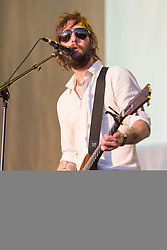 October 30, 2016 - New Orleans, Louisiana, U.S - BEN BRIDWELL of Band of Horses performs live at the Voodoo Music + Arts Experience in New Orleans, Louisiana (Credit Image: © Daniel DeSlover via ZUMA Wire)