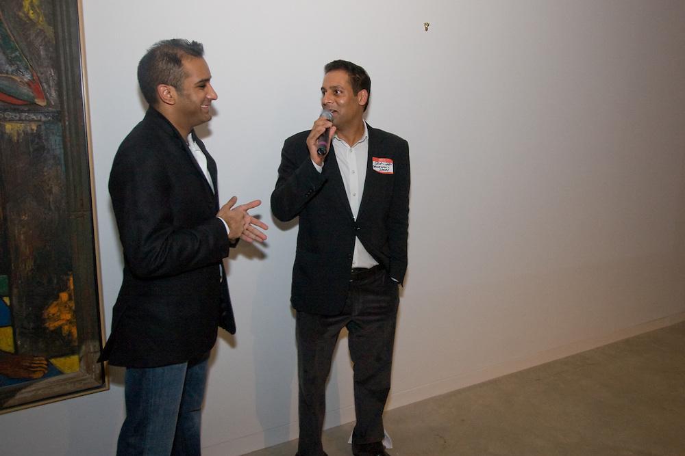 Neal Shenoy and Rajan Shah