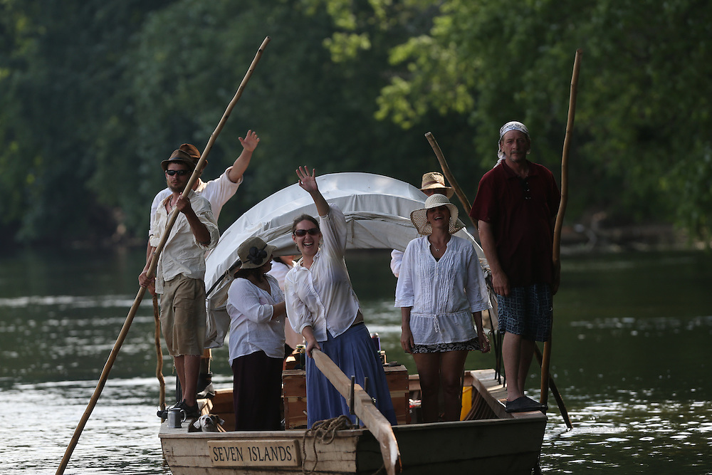The Bateau Festival in nelson County, VA. Photo/Andrew Shurtleff