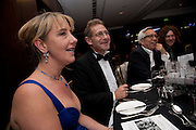 CAROLINE SMITH; STUART FRANKLIN;, Sony World Photography Awards 2011 Gala Ceremony at the ODEON Leicester Square, afterwards dinner at the Intercontinental. 27 April 2011. -DO NOT ARCHIVE-© Copyright Photograph by Dafydd Jones. 248 Clapham Rd. London SW9 0PZ. Tel 0207 820 0771. www.dafjones.com.