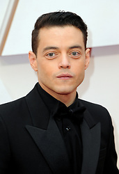 Rami Malek at the 92nd Academy Awards held at the Dolby Theatre in Hollywood, USA on February 9, 2020.