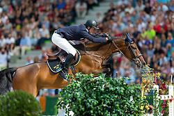 Alexander Zetterman, (SWE), Cafino - World Champions, - Second Round Team Competition - Alltech FEI World Equestrian Games™ 2014 - Normandy, France.<br /> © Hippo Foto Team - Leanjo De Koster<br /> 25/06/14