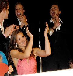 KATE MIDDLETON, PRINCE WILLIAM and TOM VAN STABANAZEE at the 2008 Boodles Boxing Ball in aid of the charity Starlight held at the Royal Lancaster Hotel, London on 7th June 2008.<br /> <br /> NON EXCLUSIVE - WORLD RIGHTS