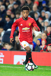 © Licensed to London News Pictures . 12/12/2016 . Manchester , UK . MUFC's ANGEL GOMES on the ball . Manchester United vs Southampton FA Youth Cup Third Round match at Old Trafford . Photo credit : Joel Goodman/LNP