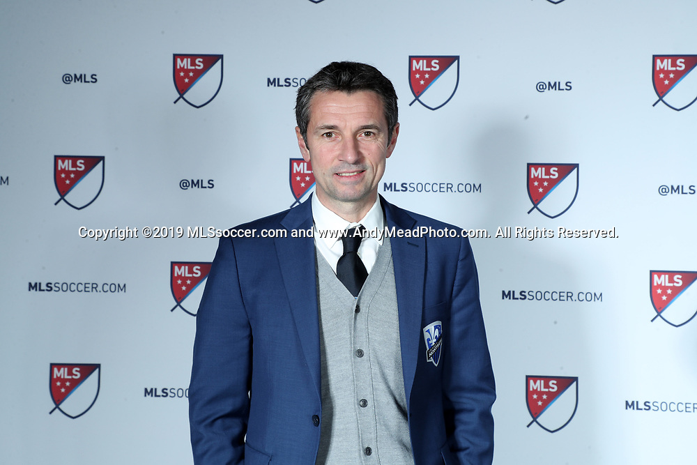 CHICAGO, IL - JANUARY 11: Montreal Impact head coach Remi Garde. The MLS SuperDraft 2019 presented by adidas was held on January 11, 2019 at McCormick Place in Chicago, IL.