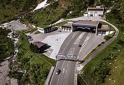 THEMENBILD - das Nordportal des Felbertauerntunnel, aufgenommen am 26. Juni 2019 in Mittersill, Oesterreich // the north portal of the Felbertauerntunnel in Mittersill, Austria on 2019/06/26. EXPA Pictures © 2019, PhotoCredit: EXPA/ JFK