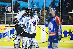 30.10.2011, Dom Sportova, Zagreb, CRO, EBEL, KHL MEDVESCAK ZAGREB vs SAPA Fahervar AV19, im Bild Player Name during EBEL Eishockey game between Medvescak KHL Zagreb and SAPA Fahervar AV19 at Dom Sportova in Zagreb, Croatia on 2011/10/30EXPA Pictures © 2011, PhotoCredit: EXPA/ nph/ Pixsell/ Daniel Kasap +++++ ATTENTION - OUT OF GERMANY/(GER), CROATIA/(CRO) +++++