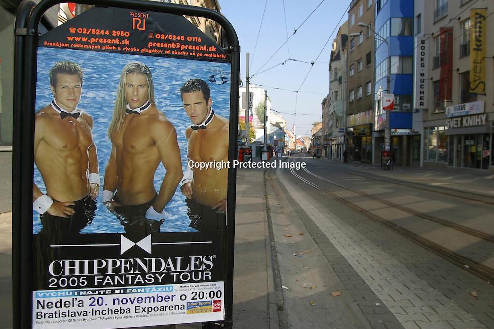 advertisement of sex in Bratislava, Slovakia