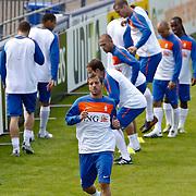 NLD/Katwijk/20100831 - Training Nederlands Elftal kwalificatie EK 2012, Rafael van ver Vaart