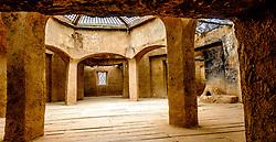 A mock Moroccan village scene at Atlas film studios near Ouarzazate, Morocco<br /> <br /> (c) Andrew Wilson | Edinburgh Elite media
