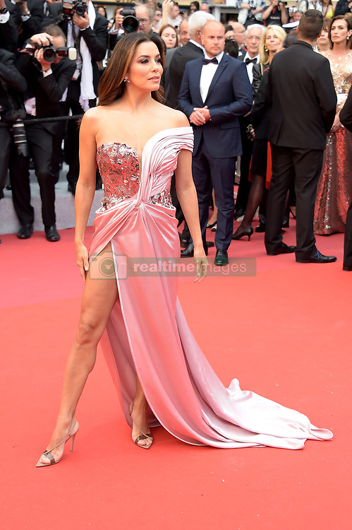 Eva Longoria attending the opening ceremony and premiere of The Dead Don't Die, during the 72nd Cannes Film Festival.