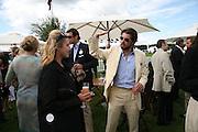Cartier International Polo. Guards Polo Club. Windsor Great Park. 29 July 2007.  -DO NOT ARCHIVE-© Copyright Photograph by Dafydd Jones. 248 Clapham Rd. London SW9 0PZ. Tel 0207 820 0771. www.dafjones.com.