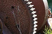 Rusty cogwheel