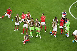 July 14, 2018 - Saint Petersbourg, Russie - SAINT PETERSBURG, RUSSIA - JULY 14 : England players  during the FIFA 2018 World Cup Russia Play-off for third place match between Belgium and England at the Saint Petersburg Stadium on July 14, 2018 in Saint Petersburg, Russia, 14/07/18 (Credit Image: © Panoramic via ZUMA Press)