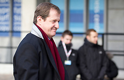 © Licensed to London News Pictures. 29/11/2012. London, UK. Former Labour spin doctor Alastair Campbell is seen arriving at the Queen Elizabeth Conference Centre in London today (29/11/12) where Lord Leveson is due to reveal the results of his inquiry on the British media. Photo credit: Matt Cetti-Roberts/LNP
